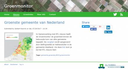 website groenmonitor