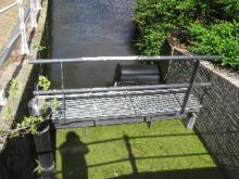 sluisje voor beter waterbeheer